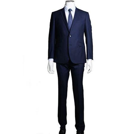 美尔雅商务西装   纯新羊毛细腻柔软有弹性