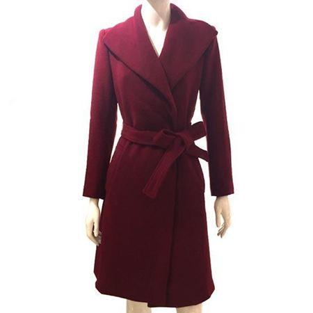 玛玮丝羊毛大衣M54M3061