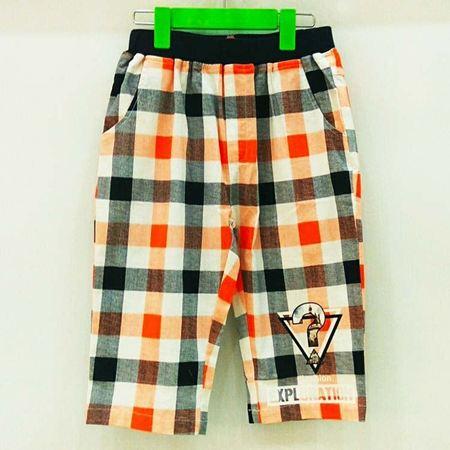 布鲁莎莎男童裤子B702278 桔色