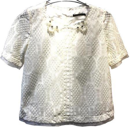 红贝提上衣C52003/粉饰玩美 米白 换季清仓一口价3折