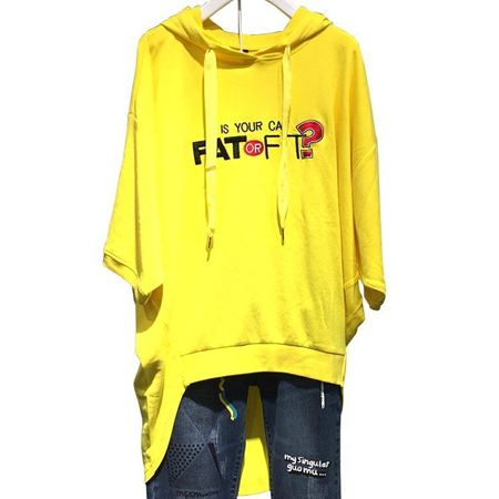 木果果木 八分袖针织T恤 M70C5131