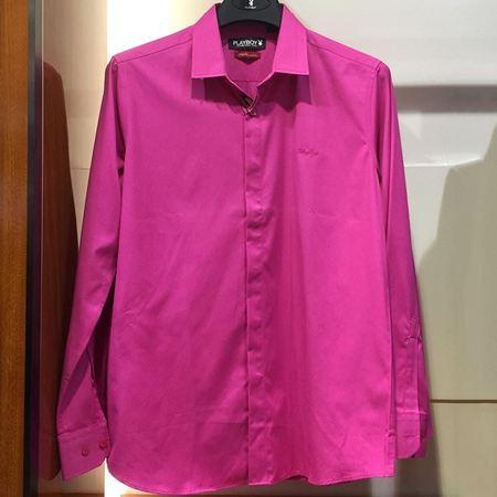 花花公子长袖衬衫0152001  新款上市
