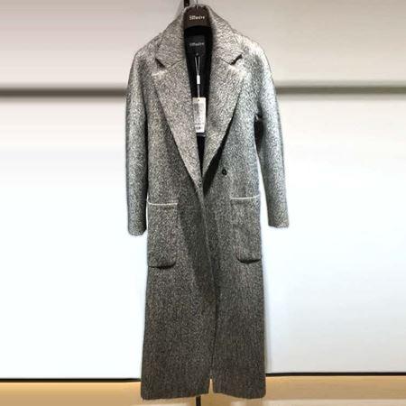 3ffusive长款羊毛大衣375339H 灰色 2017新款