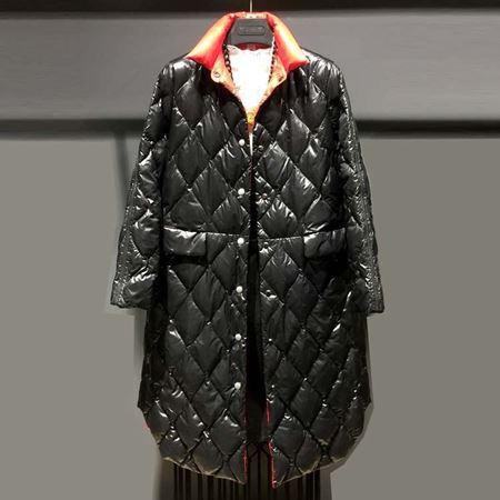 诺兰贝尔 冬季新款羽绒服 黑色 184Y3645