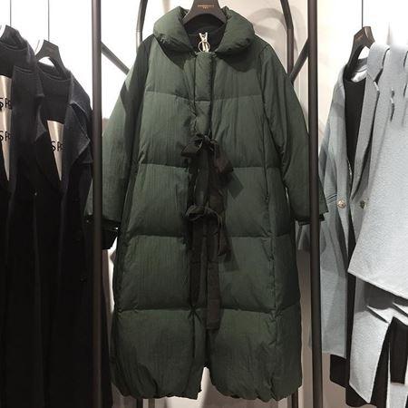 范柏菲 羽绒服 绿色 74Y9097