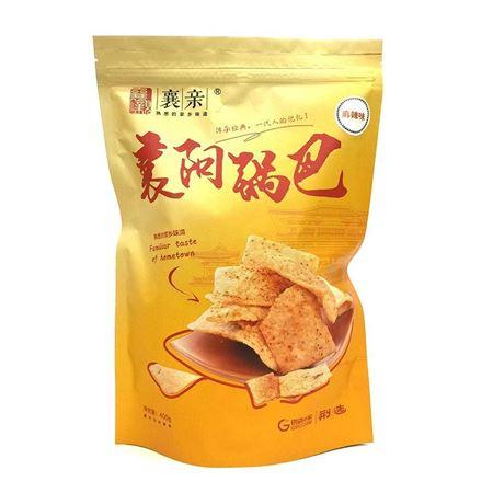 襄阳特产 襄亲锅巴手工锅巴400g袋装 五香/麻辣两种口味
