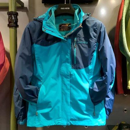 FOX-HTR 女式三合一冲锋衣 蓝色 170620