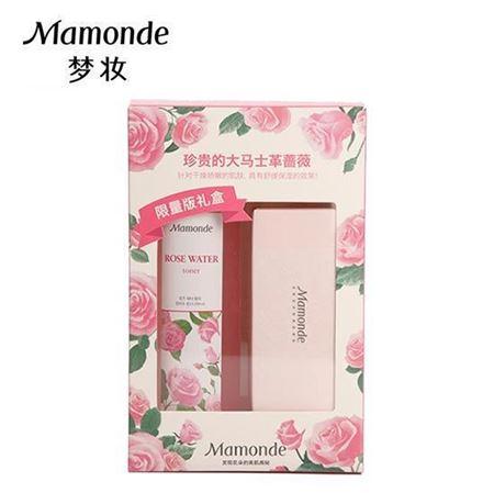 梦妆蔷薇水限量款礼盒 内含蔷薇舒缓润肤水250ml+压缩面膜20粒