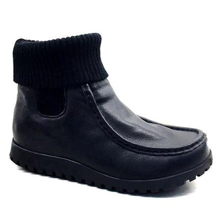 富贵鸟 秋冬新款女鞋 G7108617CC 黑色