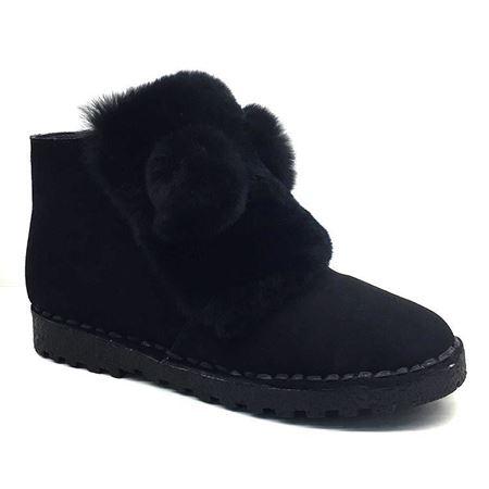富贵鸟 秋冬新款女鞋 G7109915CC 黑色