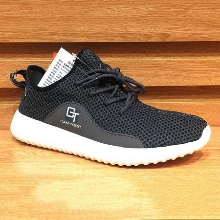 肯拓普 男式休闲鞋T111791133 深灰色 2018年新款
