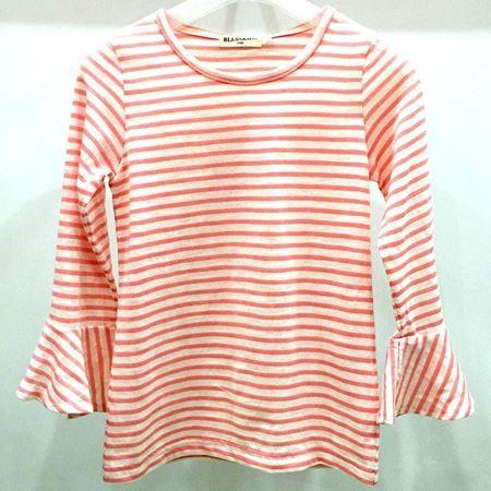 布鲁莎莎女中童针织T恤812231 粉色 2018年新款