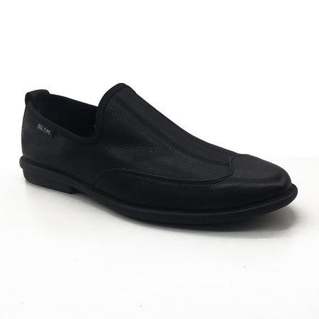 富贵鸟 2018夏季新款男鞋 S8011129 黑色/灰色