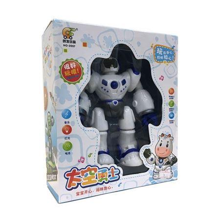 创发玩具 NO-2057 太空勇士 音乐灯光电动玩具