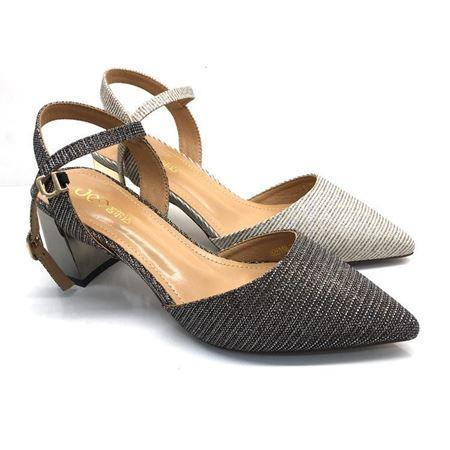 吉尔达 女士皮鞋 夏季新款 8216118 银色/灰色