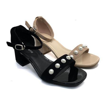 吉尔达 女士皮鞋 夏季新款 8135GL-8213396-2W黑色/白色