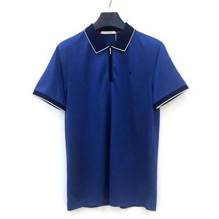 罗蒙男士短袖T恤 6T182070 深蓝色 2018夏季新款