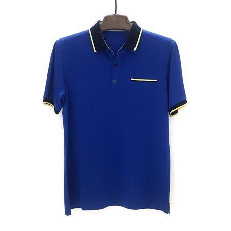 绅浪短袖T恤衫QS-183 蓝色 2018夏季新款