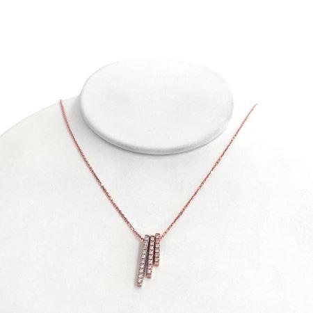 周大生金Au750钻石项链J003200831 百媚 S-CTS2899230