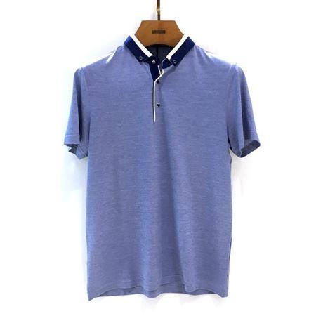 迪柯尼 男装短袖针织T恤衫 16426015-3024 2018年新款