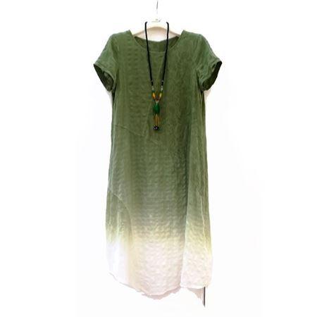 依伽依佳 连衣裙 18XLO76 绿色 夏季新款
