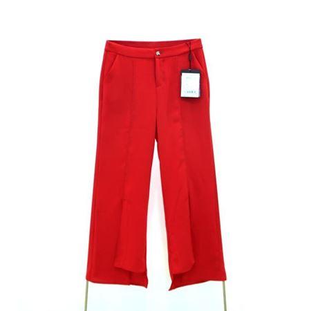 逸阳 微喇裤 红色 2018年夏季新款