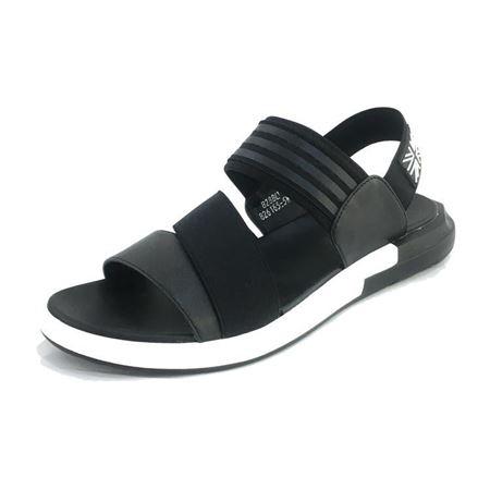 吉尔达 男式凉皮鞋 826165-5W 黑色 2018夏季新款