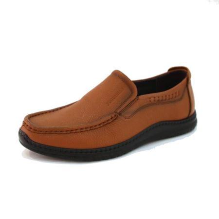 富贵鸟 秋季新款男鞋FM88611791 褐色/黑色 2018年新款
