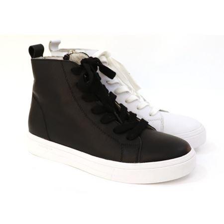 骆驼 新款秋季女鞋 A183261034  黑色/白色