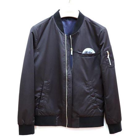 罗蒙 棉夹克(薄棉) 2J71104 黑色 2018秋季新款
