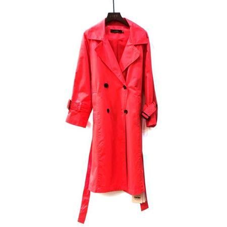 艾菲 风衣 大红色 180021 2018年新款