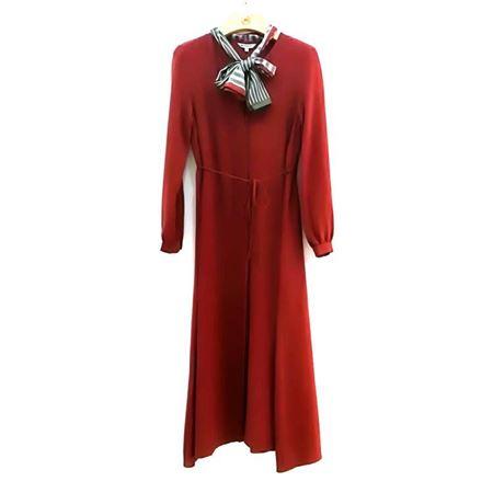 慕托丽 连衣裙 MR3120523511W015 黑底花色 2018新款上市