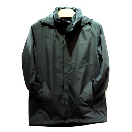 肯拓普(CAN·TORP)男式抓绒两件套风衣 T142794002 深灰 2018秋季新款