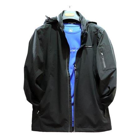 肯拓普(CAN·TORP)男式夹克 C132795005 黑色 2018秋季新款