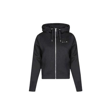 Nike耐克女装 2018新款 运动休闲舒适保暖连帽夹克外套 黑色893065-010