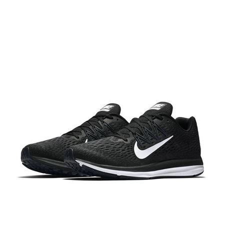 耐克NIKE 男子 气垫 跑步鞋 ZOOM WINFLO 5 缓震 运动鞋 AA7406-001黑色