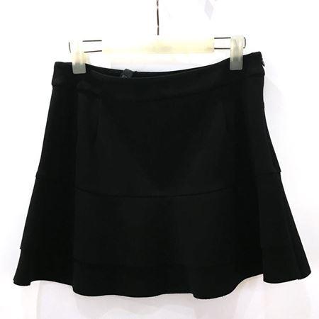 佧茜文 裙子 17101A7393065 黑色