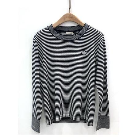 易菲 合体短款毛衫 1808M207 蓝色随想曲 2018秋季新款