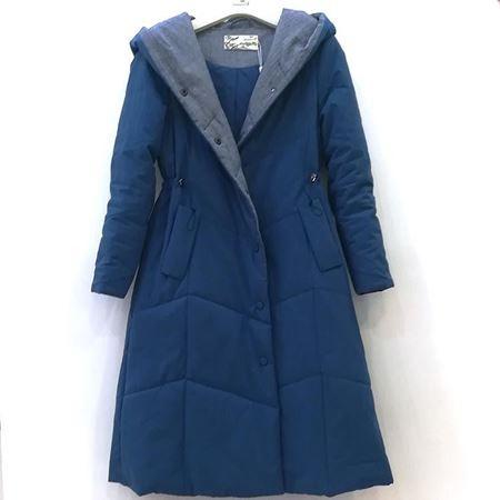 依伽依佳 蓝色棉衣 YBDM01 2018年冬季新款