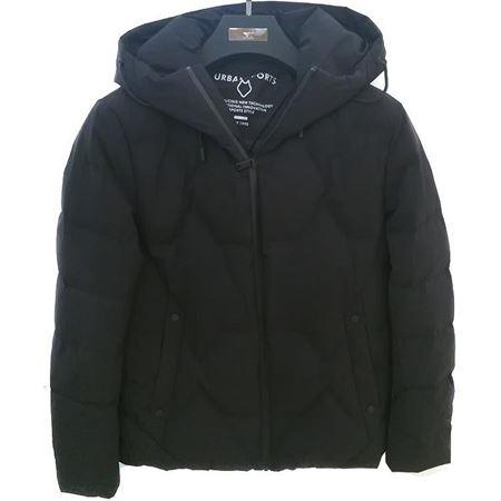 七匹狼男装 白鸭绒羽绒服 111860701671 黑色 2018年冬季新款