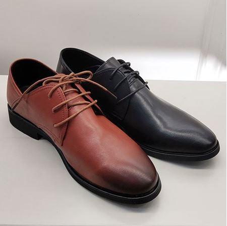 富贵鸟 2019春季新款男鞋FM9111161 黑色/棕色