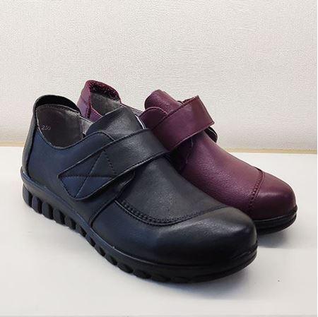 骆驼 2019春季新款女鞋休闲鞋A183205082 黑色/紫红