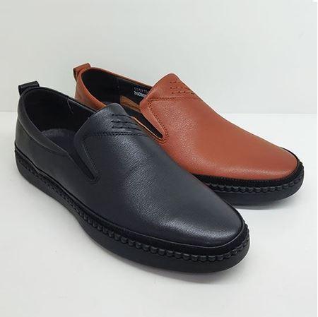 卡丹路 2019春季新款男鞋SC191510201 黑色/棕色