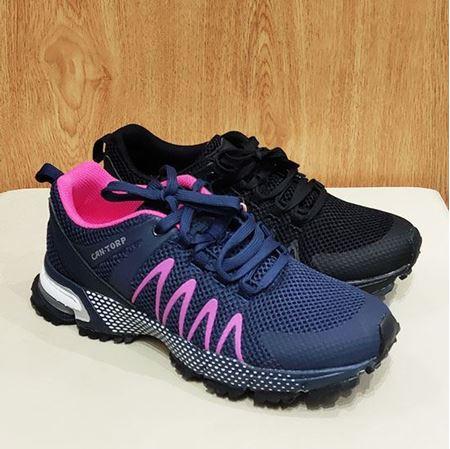肯拓普(CAN·TORP)女式运动鞋 C111881105 深蓝/黑色