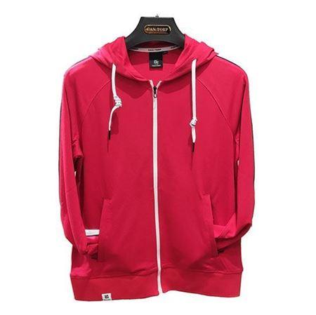 肯拓普(CAN·TORP)女式针织外套 C112885402 红色/黑色 全码 专柜正品