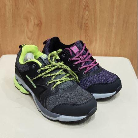 肯拓普女式登山鞋T111680212 深灰/紫色