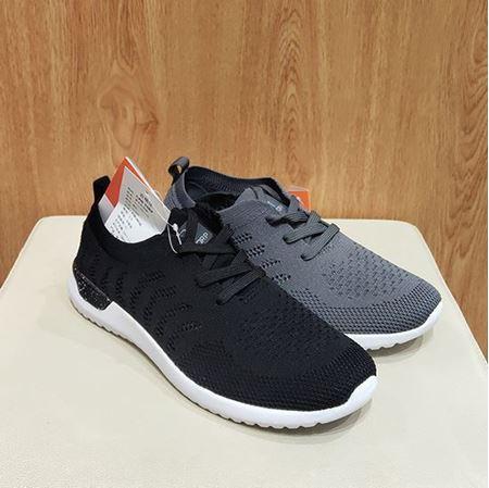 肯拓普男式休闲鞋T111791118 黑色/灰色
