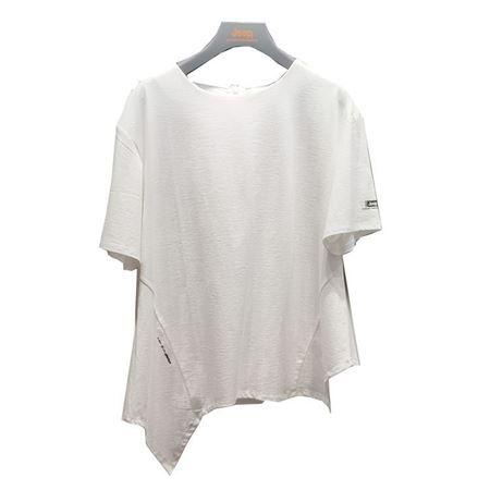 Jeep女式短袖T恤衫 J922184513 纯白色