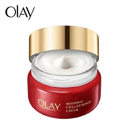 Olay/玉兰油新生塑颜臻粹面霜50g 日本小脸面霜补水保湿提拉紧致女
