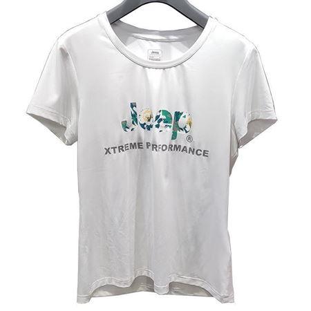 Jeep 女士短袖T恤衫 J822184543 纯白色 2019夏季新款